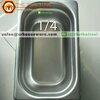 อ่างอาหารสแตนเลส 1/4 ลึก 6.5 ซม. Gastronorm Pan 040-GN-1402