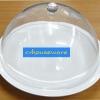 ฝาครอบอะคริลิคทรงกลม +พร้อมจานเมลามีนสีครีมขาว 005-JS-CPC12-SET2 The cover the acrylic sphere. + And melamine dish, creamy white.