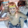 อุปกรณ์สวมใส่ป้องกันเด็กจมน้ำ iSwimband