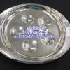 จานใส่หอยสเตนเลส. sanil plate. Code: 005-JP-SP-06