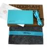 พาวเวอร์แบงค์ Eloop E12,แบตสำรอง Eloop E12,powerbank 11000mah (สีฟ้า) ของแท้ 100%