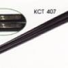 ตะเกียบดำสลักแผ่นเงิน (ตะเกียบเมลามีน ติดแผ่นสลักเงิน) 006-KCT-407
