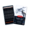 ชุดดินสอสเก็ตDerwent Graphic Soft 12แท่ง, 9B-H (Derwent Graphic Soft Pencils Set of 12, 9B-H)