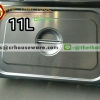 ฝาอ่างอาหารสแตนเลส 1/1 Gastronorm Pan Cover 040-GN-11L