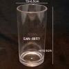 แก้วน้ำพลาสติกริมสระน้ำ ,แก้ว SAN-8857 Straight highball. Plastic Mug poolside, Straight highball glass.