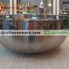 ชามสแตนเลส 2 ชั้น 24 ซม. 008-MP306,ชามเกาหลี 2 ชั้น 9 นิ้วใหญ่,ชามอาหารจับไม่ร้อน