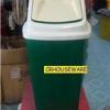 ถังขยะสีเขียว50 ลิตรฝาแกว่ง 001-KS648-G ถังขยะ 50 ลิตร