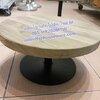 แท่นโชว์เค้ก ไม้สัก ทรงเตี้ย ไซส์ M Code : 005-HR200MTW