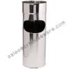 ถังขยะสแตนเลสที่เขี่ยบุหรี่ 12 นิ้ว 001-UC158-12 Trash stainless steel ashtray. 12 liter. 001-UC158-12,stainless Trash Bin with Ashtray,Bin Thùng rác không gỉ với gạt tàn,Bin ກະຕ່າຂີ້ເຫຍື້ອແຕນເລ,ດທີ່ມີ Ashtray,