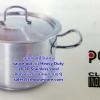 หม้อซุปหนา2หู,หม้อทำอาหารโรงแรม,sauce pot -heavy duty 18-10 Stainless steel ยี่ห้อ pujadas 008-JP-P206-032 เส้นผ่านศูนย์กลาง32ซม