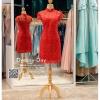 รหัส ชุดกี่เพ้า :KPS030 ชุดกี่เพ้าพร้อมส่ง มีชุดกี่เพ้าคนอ้วน แบบสั้น สีแดง คัตติ้งเป๊ะมาก ใส่ออกงาน ไปงานแต่งงาน ใส่เป็นชุดพิธีกร ชุดเพื่อนเจ้าสาว ชุดถ่ายพรีเวดดิ้ง ชุดยกน้ำชา หรือ ใส่ ชุดกี่เพ้าแต่งงาน สวยมากๆ ค่ะ