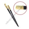 ตะเกียบดำด้ามทอง (ตะเกียบเมลามีน ติดปลายหุ้มด้ามทอง) 006-KCT-605 Black chopsticks and The grip of gold. (Melamine chopsticks The grip of gold),),luxury chopsticks,ចង្កឹះប្រណីត,đũa sang trọng,豪华筷子,chopsticks luxury,