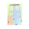 เก้าอี้สูง เหลี่ยม หน้าไม้ยางพารา(เก้าอี้บันได) 015-FC-009