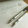 รีวิวปากกาคอแร้ง Tachikawa School-G โดย SquidMan.ExE