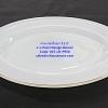 จานเปลเนื้อมุก ขนาด 11.5 นิ้ว -ลาย Pearl Design Dinner รหัสสินค้า 025-LD-P950
