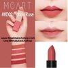 MOART Velvet Lipstick #RD02 Cotton Rose ลิปสติกเนื้อแมท สีสดชัดและให้ความชุ่มชื่นแก่ริมฝีปาก ไม่ตกร่อง ติดทนนาน