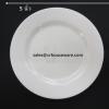 Round Plate -จานกลมตื้น เกรด A 5 นิ้ว รหัสสินค้า 017-16 A
