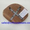 ไม้รองเตาจิ้มจุ่ม 006-AU-002-3 Wooden stove Chim Chum. 006-AU-002-3