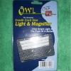 การด์แว่นขยายนกฮูก owl light magnifier