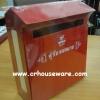 กล่องรับจดหมาย กล่องแสดงความคิดเห็น ผลิตจากเหล็กพ่นสี Mail box, Comment Box Made of painted steel.