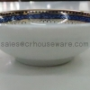SOY SAUCE DISH Code : RPP4006ถ้วยน้ำจิ้มพอร์ซิเลน ,จานชามพอร์ซิเลนลายPrecious Blue,จานพอร์ซิเลนลายน้ำเงินขอบทองรับแขกVIP