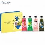 L'Occitane Hand Cream Quatour Set เซ็ทแฮนด์ครีมขายดี 4 กลิ่น มาในกล่องสวยงามเลอค่า บนแพ็กเกจ 4 สไตล์ทั้งสี่ชิ้นถูกวางอยู่ในกล่องโลหะ Limited-edition มอบคุณสมบัติในการถนอมผิวและปกป้องผิวด้วยส่วนผสมที่เหลือเชื่อ เนื้อสัมผัสเข้มข้น เรียบเนียน