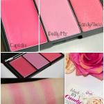 Sleek blush By 3 Candy Colection Limited Edition # 872 Sweet Cheeks พาเลทบรัชออนปัดแก้มสีหวานคอลเลคชั่นใหม่ล่าสุด ประกอบด้วยบรัชเนื้อครีมสีชมพูระเรื่อ เกลี่ยให้ลุ้คสาววัยใส แลดูธรรมชาติ และอีก 2สีบรัชเนื้อฝุ่น สีชมพูอ่อน และชมพูอมส้มนิดๆ