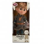 Animators' Collection Kristoff Doll ตุ๊กตาแอนิเมเตอร์ คริสตอฟ จากการ์ตูนเรื่องโฟรสเซ่น Frozen (รุ่น 3 มีตุ๊กตาที่ข้อมือ) ขนาดความสูง 16 นิ้ว สินค้านำเข้า Disney USA แท้ 100% ค่ะ