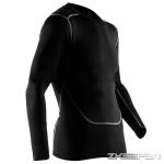 เสื้อรัดกล้ามเนื้อแขนยาว สีดำ Baselayer T-Shirt