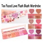 Too Faced Love Flush Long-Lasting 16-Hour Blush Wardrobe 6x2g. พาเลทบรัชออนรูปหัวใจ 6 สีสวย รวมทุกเฉดสีทุกคอลเลคชั่นที่ขายดีสุดๆไว้ในพาเลทนี้เลยค่ะ ติดทนนาน 16 ชั่วโมง Limited อยากเปลี่ยนลุคเมื่อไหร่ก็พกไปอันเดียวจบคะ