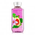 Bath&Body Works Brown Sugar & Fig Shower Gel 236ml. เจลอาบน้ำกลิ่นหอมติดกายนานตลอดวัน กลิ่นหอมนุ่มนวลของกลิ่นผล Fig และกลิ่นหอมหวานของน้ำตาลแดง กลิ่นให้ความรู้สึกหอมนุ่มผ่อนคลายค่ะ