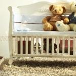 เตียงนอนไม้สำหรับเด็ก European White Premium TP21045 (WD3)