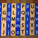 แฟลชการ์ด จับคู่อักษรภาษาอังกฤษ A-Z พิมพ์เล็ก พิมพ์ใหญ่ สำหรับเด็ก 3 ขวบขึ้นไป