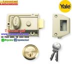 YALE P77 กุญแจประตูตึก 60 มม. (B-77-ENB-PB-60)
