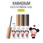 Karadium Pucca Eyebrow Cara 6.5g. มาสคาร่าปัดขนคิ้ว เปลี่ยนสีคิ้วของคุณให้ดูธรรมชาติ สีติดทนนาน ตอบโจทย์สาวเอเชีย พกพาสะดวกทุกที่ทุกเวลา