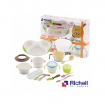 Richell Feeding Set ชุดอุปกรณ์ทานอาหาร ND-5 ราคา 2,550 บาท ส่งฟรี