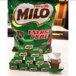 สินค้าพร้อมส่ง ของแท้ 100% Milo Energy Cube ไมโลคิวบ์ ขนมไมโลอัดก้อน คอ Chocolate ไม่ควรพลาด!! 1 ถุง มี 100 ก้อน ช็อคโกแลตก้อนเล็กๆ ที่ทำมาจากไมโลผงนำมาอัดเป็นก้อนให้ทานสะดวก ให้ความรู้สึกเหมือนกินลูกอมที่เข้าไปละลายในปาก