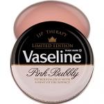 Vaseline Lip Therapy Petroleum Jelly Pocket Size # Pink Bubbly (Limited Edition) 20g. รุ่นนี้เป็นLimited Edition ฉลองคริสต์มาส+ปีใหม่ ปี 2014 มีวางขายเฉพาะที่อังกฤษ กลิ่นหอมน่ารักๆค่ะ กลิ่นหอมแชมเปญองุ่นอ่อนๆ เนื้อบาล์มอมชมพู ทาแล้วไม่มีสีใช้ได้ทั้งหญิงแล