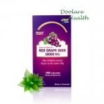 Biosis Red Grapeseed 38000 mg. ไบออส์เรด เกรพซีด ราคา 1 กล่องๆละ 1,450 บาท ส่งฟรี ลทบ.