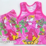 ไซด์ 6-9 เดือน ชุดเสื้อกล้ามกางเกงเบนเทน สีชมพู