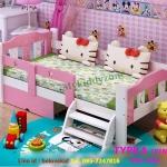 TP21004S(WDK4S) เตียงนอนไม้ เตียงเดี่ยวสำหรับเด็ก สีขาว สีฟ้า สีชมพู แบบบันไดท้าย / บันไดข้าง สำเนา