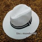 หมวกปานามา,หมวกทรงปานามา หมวกคาวบอย,หมวกเคาบอย,ปานามาปีกกว้าง สินค้าพร้อมส่งค่ะ