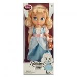 Animators' Collection Cinderella Doll ตุ๊กตาเจ้าหญิงดิสนีย์ ตุ๊กตาแอนิเมเตอร์ ซินเดอเรลล่า จากการ์ตูนเรื่องซินเดอเรลล่า Cinderella (รุ่น 3 มีตุ๊กตาที่ข้อมือ) ขนาดความสูง 16 นิ้ว สินค้านำเข้า Disney USA แท้ 100% ค่ะ