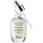 Dior Capture Youth Plump Filler Age-Delay Plumping Serum 30 ml. เซรั่มสูตรใหม่ สูตรไฮยาลูรอนเพื่อผิวอ่อนเยาว์ ช่วยเติมเต็มผิว ให้เต่งตึงเรียบเนียนอิ่มเอิบ พร้อมสำหรับฟื้นฟูผิวและช่วยให้แต่งหน้าได้ติดทนขึ้น