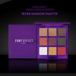 MEMEBOX Pony Effect That Girl Fever Shadow Palette 10g. พาเลทอายเชโดว์ 9 เฉดสี ประกอบไปด้วย เนื้อแมท 3 สี เนื้อชิมเมอร์ 4 และเนื้อกลิตเตอร์เล่นแสงไฟวิบวับอีก 2 สีค่ะ เป็นโทนสีสันสดใสสไตล์ยอดนิยมของสาวๆเกาหลี และก็ยังสีกันตายโทนน้ำตาลธรรมชาติไว้ให้ด้วย สาม