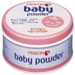 Pigeon Baby Powder 150 g. แป้งฝุ่น พีเจ้น กระปุกชมพู มีกลิ่นหอมอ่อนๆ ไม่ก่อให้เกิดสิวเหมาะสำหรับผิวทุกประเภท มอบความนวลผ่องให้ผิวอ่อนโยนทุกผิวสัมผัส