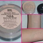 NYC Smooth Skin Loose Face Powder 20 g. สี Naturally Beige 742A สำหรับผิวขาว- ขาวปานกลาง แป้งฝุ่น เนื้อเนียน ควบคุมความมัน สูตร oil freeซึมซับความมันอย่างเป็นธรรมชาติ โดยไม่อุดตันรูขุมขน