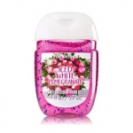 Bath & Body Works Iced White Pomegranate PocketBac Sanitizing Hand Gel 29 ml. เจลล้างมือขนาดพกพาแบบไม่ต้องใช้น้ำ สูตรแอนตี้แบคทีเรีย ฆ่าแบคทีเรียได้ 99.9% กลิ่นหอมของผลทับทิมหอมหวานสดชื่นคะ