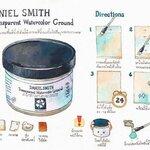 รีวิวรองพื้นสีน้ำแบบใส Daniel Smith Transparent Watercolor Ground พร้อม How to วาดไอศกรีมเค้ก โดยน้องเนท Netchand