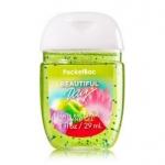 Bath & Body Works Beautiful Day PocketBac Sanitizing Hand Gel 29 ml. เจลล้างมือขนาดพกพาแบบไม่ต้องใช้น้ำ สูตรแอนตี้แบคทีเรีย ฆ่าแบคทีเรียได้ 99.9% กลิ่นนี้ให้กลิ่นหอมสดชื่นของแอปเปิ้ลผสมกับกลิ่นของดอกเดซี่ หอมน่ารักๆ กลิ่นคล้ายๆน้ำหอมของ DKNY แอปเปิ้ลเขียว